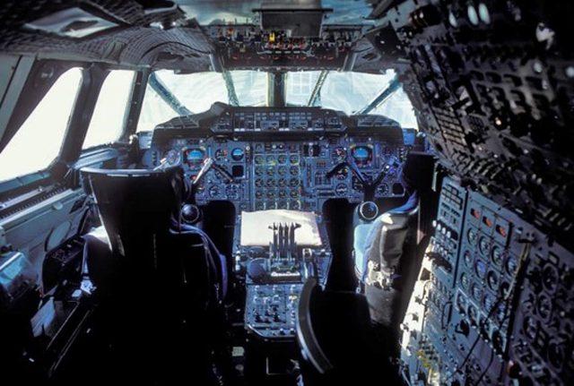コンコルドの操縦席