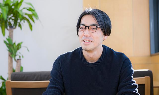 デザインコンサルティング部 コンサルタント 麦島 豊のインタビュー写真(1)