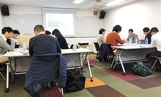 イノベーション創出のための思考法講座 ~ヒト×社会×アウトカムで導く0→1思考~ 講座の様子の写真