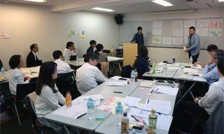 ユーザーエクスペリエンス講座 ~「ヒトを知る」からはじめるUXデザイン~【関西(神戸)開催】 講座の様子の写真