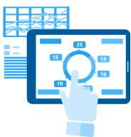 U'eyes Designのサービスカテゴリー「組織デザイン支援」のイメージイラスト