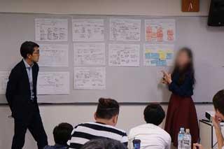 デザイン思考スキルワークショップ2の様子の写真
