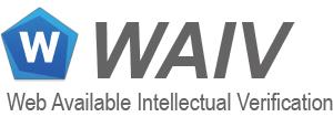 WAIV - ウェブアクセシビリティ評価ツールのロゴ画像